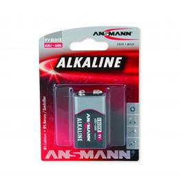 1 Ansmann Pila Alcalina 9V Red-Line