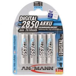 1X4 Ansmann Nimh Pilas 2850 Mignon Aa 2650 Mah Digital