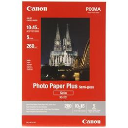 Canon Sg-201 10X15 Cm 4X6 5 Hojas, 260G