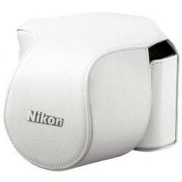 Nikon Cb-N1000Sd Funda de Cuero Blanco