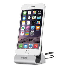 Belkin Lightning Lade/sync Dock Iphone 6/5/5S Negro F8J045Bt