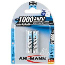 1X2 Ansmann Nimh Pilas 1000 Micro Aaa 950 Mah