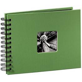 Hama  Fine Art  Spiral Verde 24X17 50 Páginas Negras 94880
