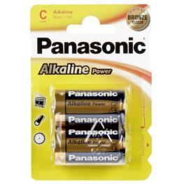 1X2 Panasonic Alkaline Power Baby C Lr 14