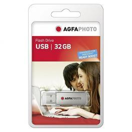 Agfaphoto Usb 2.0 Plata    32Gb