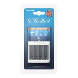 Panasonic Eneloop Smart & Quick Cargador Bq-Cc55E (Sin Pilas)