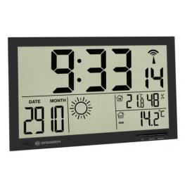 Bresser Mytime Jumbo Negro Lcd Reloj Meteorológico