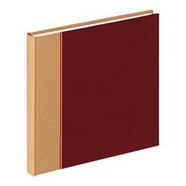 Walther Primary Rojo Vino 26X25 40 Páginas Blancas Album Fa304R