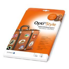 Opti Style Papel Adhesivo A 4 10 Hojas