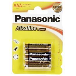 1X4 Panasonic Alkaline Power Micro Aaa Lr03