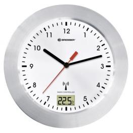 Bresser Mytime Bath Blanco Reloj de Baño Radiocontrolado