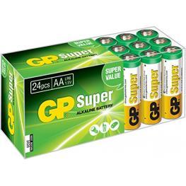 1X24 Gp Super Alkaline Mignon Aa Lr 06 Pet Box       03015Ab24