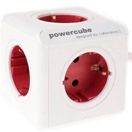 Allocacoc Powercube Original Usb Rojo Type F Para Extended Cubes