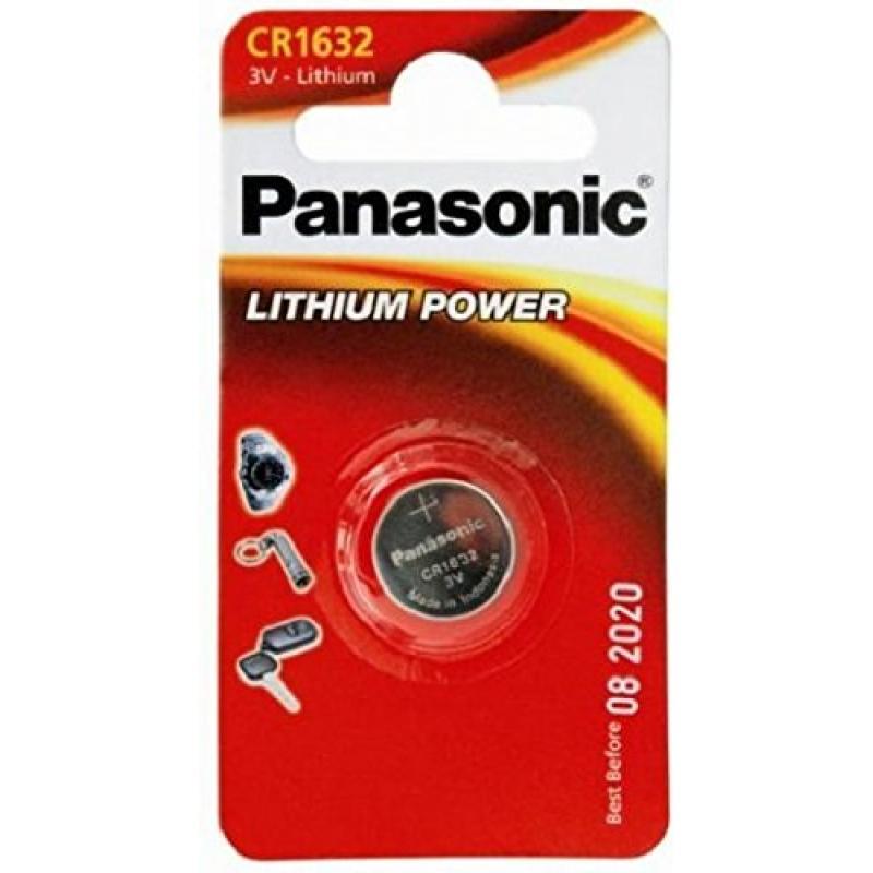 1 Panasonic Cr 1632 Litio Power