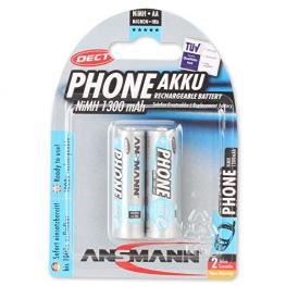 1X2 Ansmann Maxe Nimh Pilas Mignon Aa 1300 Mah Dect Phone