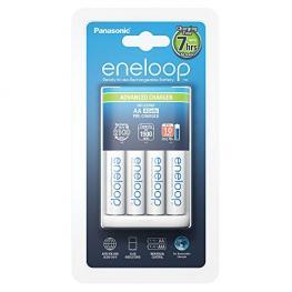 Panasonic Eneloop Advanced Cargador Bq Cc17 + 1X4 Aa