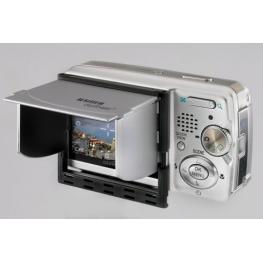 Kaiser Digishield Monitor Glare Shield 6,4 Cm  2,5   Silver
