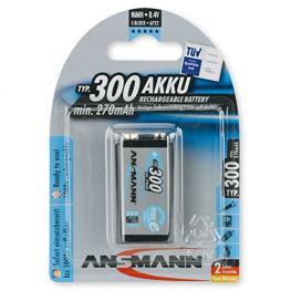 1 Ansmann Maxe Nimh Batería 300 9V-Bloque 270 Mah
