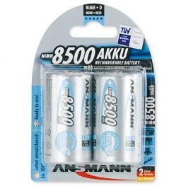 1X2 Ansmann Maxe Nimh Pila Mono D 8500 Mah Alemán