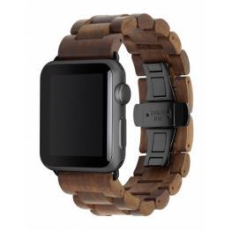 Woodcessories Ecostrap Apple Watch Band 42Mm, Nuez Negro