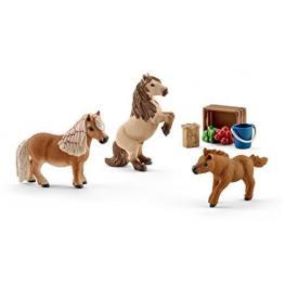 Schleich Horse Club 41432 Familia Shetty Mini