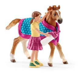 Schleich Horse Club 42361 Potro Con Manta