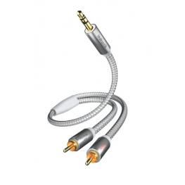 In-Akustik Premium Audio Cable 3,5Mm Jack - Cinch 5,0M