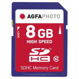 Agfaphoto Sdhc Tarjeta 8Gb High Speed Class 10 Uhs I