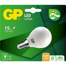 Gp Lighting Led Mini Globe E14 6W (40W)  470Lm