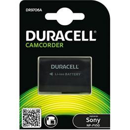 Duracell Li-Ion Batería 650Mah Para Sony Np-Fv50