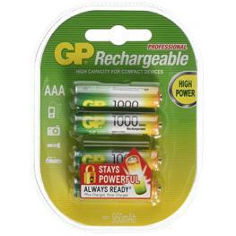 1X4 Gp Recyko+ Nimh Pilas Micro Aaa 950 Mah 120100Aaahcc4