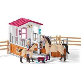 Schleich Horse Club        42369 Pferdebox M. Arabern + Pflegerin