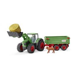 Schleich Farm World        42379 Traktor Mit Anhänger