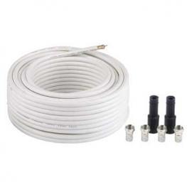 Hama Sat Cable Antena 20M + 4 Conductores Aislados   56661