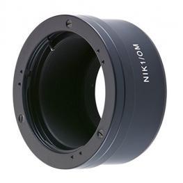 Novoflex Adapter Olympus Om Lens To Nikon 1 Camera