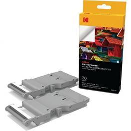 Kodak Pms-20 Sticker Paper Cartridge 54X86Mm 20 Unds