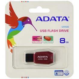 Adata Usb 2.0 Stick Uv100 Red 8Gb