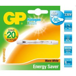 Gp Lighting Tubo Halógeno R7S 48W (60W) 78Mm