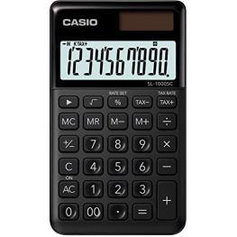 Casio Sl-1000Sc-Bk Schwarz