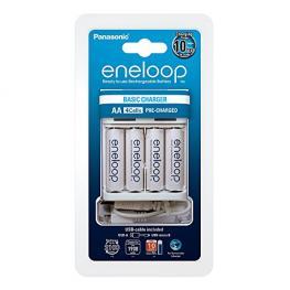 Panasonic Eneloop Usb-Ladegerät Inkl. 1X4 Mignon 1900 Mah Akkus