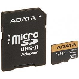 Adata Microsdxc Uhs-Ii U3 128Gb Premier One With Adapter