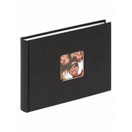 Walther Fun Schwarz        22X16 40 Seiten Buchalbum       Fa207B