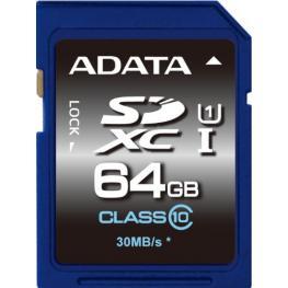 Adata Sdxc Uhs-I Class 10 64Gb Premier