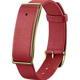Huawei Color Band A1 Lederarmband Rot