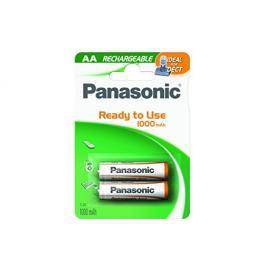 1X2 Panasonic Akku Nimh Mignon Aaa 1000 Mah Ready To Use Dect