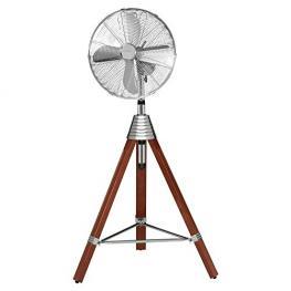 Aeg Vl 5688 S  40 Cm      Design Inox-Holz Stand-Ventilator