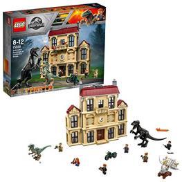 Lego Jurassic World 75930 Caos D Indorraptor En Mansión Lockwood