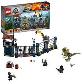Lego Jurassic World 75931 Ataque de Dilofosaurio Al Puesto Vigil.