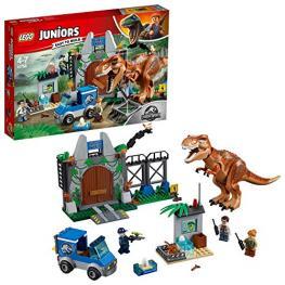 Lego Juniors Jurassic World 10758 Fuga del T.Rex