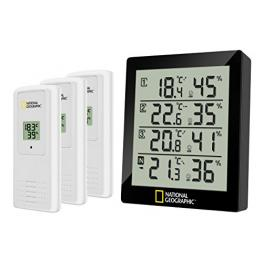 National Geographic Thermo- Hygrometeter 4 Messbereiche